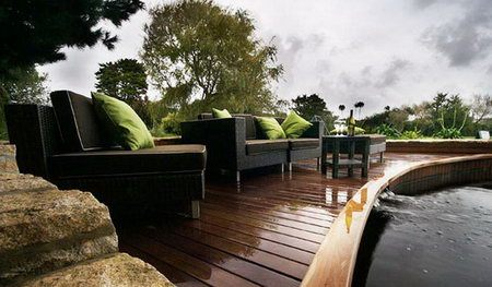 Применение террасной доски на объектах с повышенной влажностью